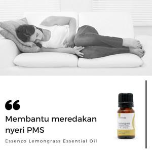 Lemongrass Essential Oil - 10mL Membantu Meredakan Nyeri PMS