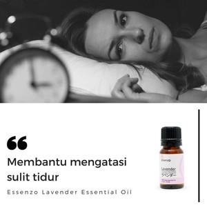 Lavender Essential Oil -10mL Membantu Mengatasi SULIT TIDUR