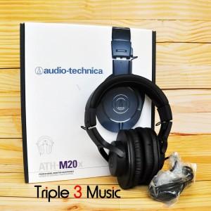 Audio Technica Headphone ATH M20x [BANDUNG] ORIGINAL Studio monitor