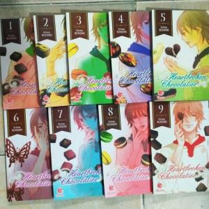 heartbroken chocolatier 9vol by. setona mizushiro - tamat
