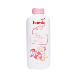 Bambi Baby Powder 250gr Pink