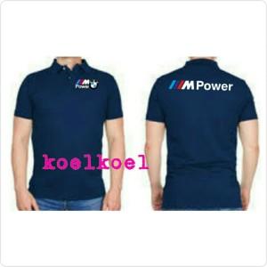 Jual Kaos Kerah Polo Shirt Baju Bmw M Power Logo Depan Belakang Putih M Kota Bekasi 45 Collection Tokopedia