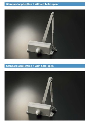 Penutup pintu - RYOBI Surface Mounted Door Closer 8005