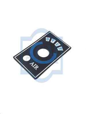 Label Switch Angin 123 Fan Speed Ac Mobil ACM