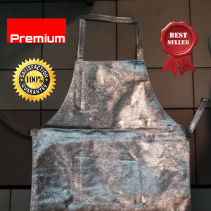 Apron dada Aluminized/Apron tahan panas/aluminized apron