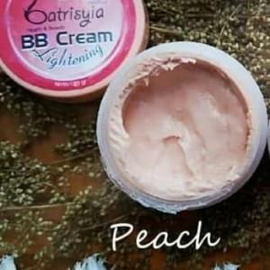 BB Cream Batrisyia/BB Cream Lightening Batrisyia Herbal Skincare Peach