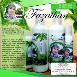 Body Lotion Green Tea Batrisyia Herbal Skincare 100ml