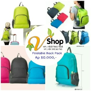 Foldable Back Pack