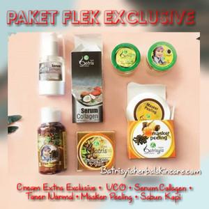Paket Flek Ekslusive Batrisyia Herbal Skincare/Perawatan Flek Wajah