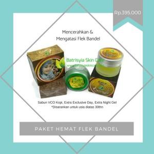 Paket Perawatan Flek Bandel Batrisyia/Cream untuk Flek Wajah