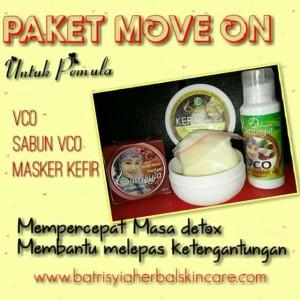 Paket Move On Batrisyia Herbal Skincare/Paket Perawatan untuk Pemula