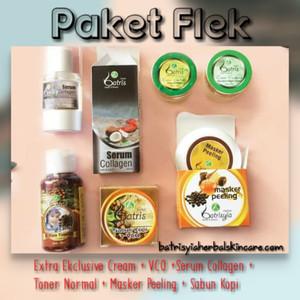 Paket Flek Sensitif Batrisyia Herbal/Paket Flek untuk Wajah Sensitif
