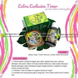 Paket Batrisyia Extra Exclusive Toner/Paket Whitening & Flek Batrisyia