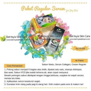 Paket Batrisyia Reguler Serum/Perawatan Kulit Kering Batrisyia Herbal