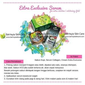 Paket Batrisyia Extra Exclusive Serum/Paket Whitening & Flek Batrisyia