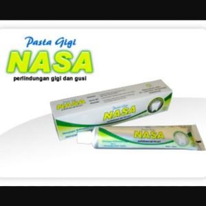 PASTA GIGI NASA Pemutih mulut segar perontok karang gigi