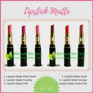 Lipstick Matte Batrisyia/Lips Matte/Lipstick Matte Herbal with VCO