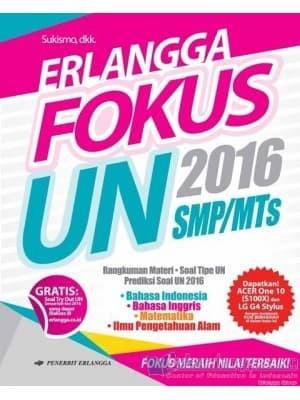 Jual Murah Buku Smp Kelas 3 Erlangga Fokus Un 2016 Smp Mts Jakarta Barat Queen Wijayanti Tokopedia