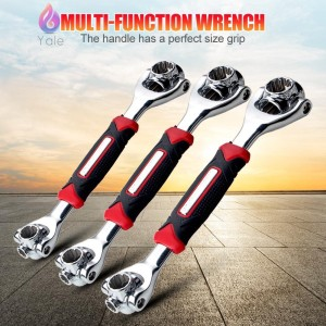 SODIAL Hand Tool Metric T Bar Handle Hex Socket Wrench Spanner 10mm R