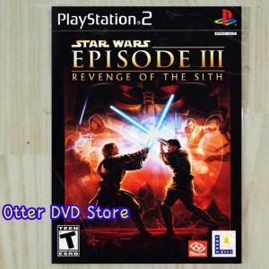 Jual Kaset Game Ps2 Ps 2 Star Wars Episode 3 Revenge Of The Sith Kab Tangerang Otter Dvd Store Tokopedia