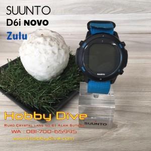 Suunto D6i Novo Zulu Limited Edition Scuba Diving Computer Instructor Blue
