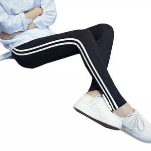 Jual Celana Legging Wanita 2 Garis Putih Celana Training Sport Wanita Jakarta Utara Bernessashop9 Tokopedia