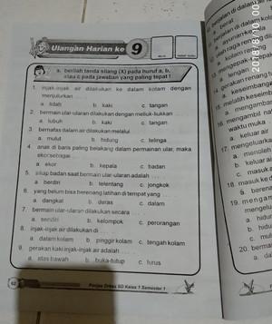 Jual Buku Kumpulan Soal Sd Buku Modul Penjas Orkes Pjok Kelas 1 2 3 4 5 Sd Jakarta Pusat Titihasanah Tokopedia