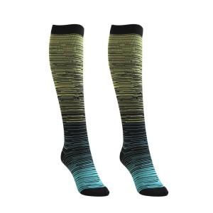 ular Wool Thermal Knee Leg Warmer Long Socks Elasticated Kneepad+q