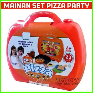 Jual Mainan Edukasi Anak Pizza Maker Koper Masak Game Party Oven Jakarta Utara Listiafatma Tokopedia