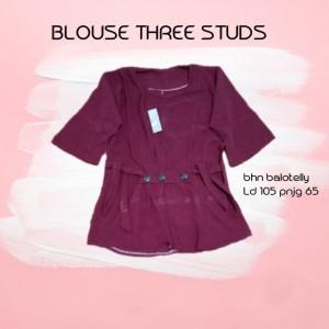 BLOUSE MURAH THREE STUDS
