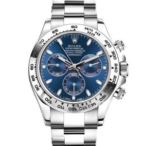 Rolex Daytona 116509 Baselworld Swiss Clone 1:1 Blue Dial