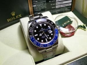 Rolex GMT Master II Black/Blue Ceramic Swiss ETA 1:1 Best Edition