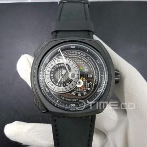 Jam Tangan SF Q-Series Q3-01 Swiss Clone 1:1 Black Dial