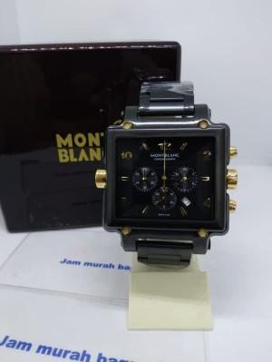 Jam tangan mewah pria montblanc black