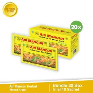 Beli 20 Air Mancur Herbal Masuk Angin Box (Isi 10 Sachet)