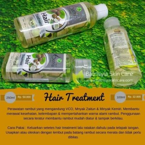 Batrisyia Hair Treatment | Perawatan Rambut Rontok Batrisyia