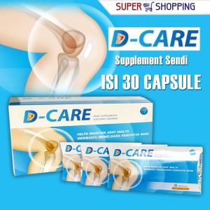 D-Care Suplement tulang Sendi menjaga kesehatan Lutut dan persendian