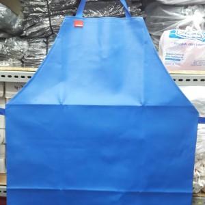 Celemek anti air/Celemek PVC/Apron anti air/apron PVC warna BIRU
