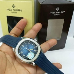 Patek Philippe Aquanaut Jumbo 5168G-001 PF Swiss Clone 1.1 Blue Dial