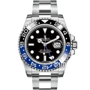 Jam Tangan Rolex GMT Master II 116710 Swiss Black/Blue