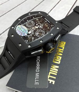 Richard Mille RM 011 Black Ceramic Bezel KVF Swiss Clone 1:1