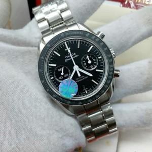 Omega Speedmaster Co-axial Chronograph Black Dial Swiss Clone 1:1