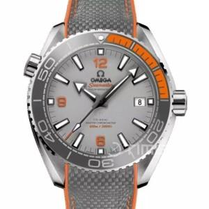 Omega Planet Ocean Grey Orange Bezel Swiss Eta 1:1