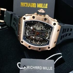 Richard Mille RM53-01 Swiss Clone 1:1 Black Dial Rabber Strap