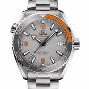 Omega Planet Ocean 600M Grey Orange Swiss Eta 1:1