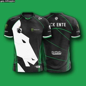 JERSEY KAOS BAJU TEAM GAMING DOTA2 CSGO ML AOV TEAM LIQUID TI 8