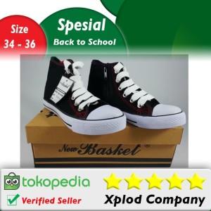Ukuran 34 – 36 Sepatu Sekolah Anak New Basket NB 338 HC Model Boots