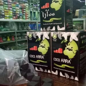 Arang shisha 1kg Coco Ara premium charcoal