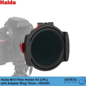 Haida M10 Filter Holder Kit ( CPL ) with Adapter Ring 72mm - HD4305