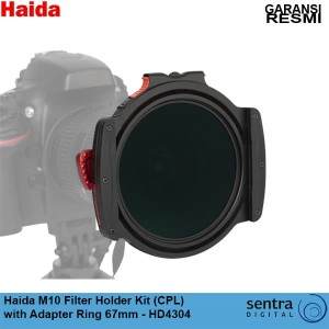 Haida M10 Filter Holder Kit (CPL) with Adapter Ring 67mm - HD4304